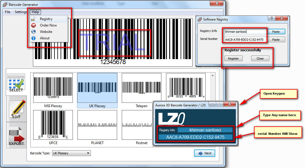 Barcode Generator Software And Scanner