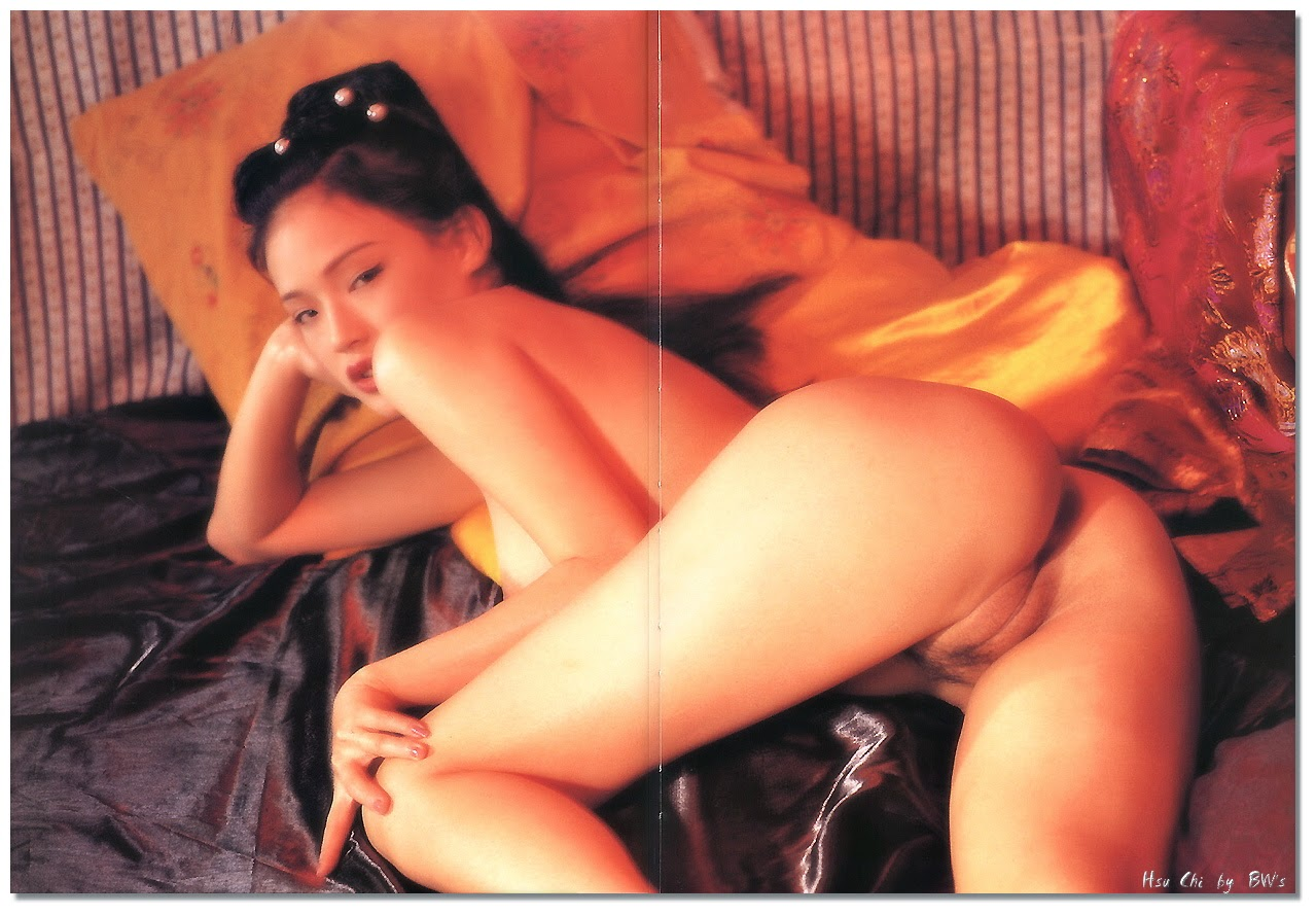 qi shu nude for penthouse