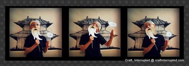 Fotos de Ninjas. Paso a paso con Imprimibles y Plantillas.