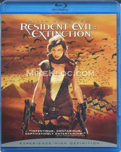 Resident Evil 3 Extinction 2007 Dual Audio 720p BRRip 500mb HEVC x265