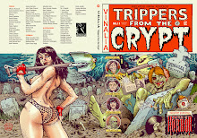 "Vinalia ""Trippers from the Crypt"", portada de Mik Baro"