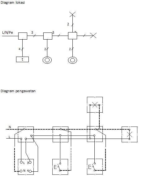 Saklar staircase berbagi ilmu b2 penyambungan 4 kawat ccuart Images