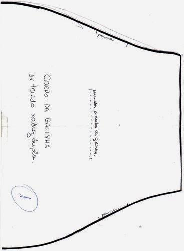 Puxa saco de tecido em formato de vaquinha