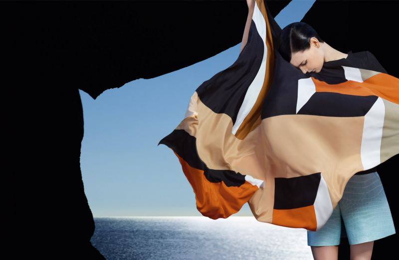 Collage Fendi by Karl Lagerfield