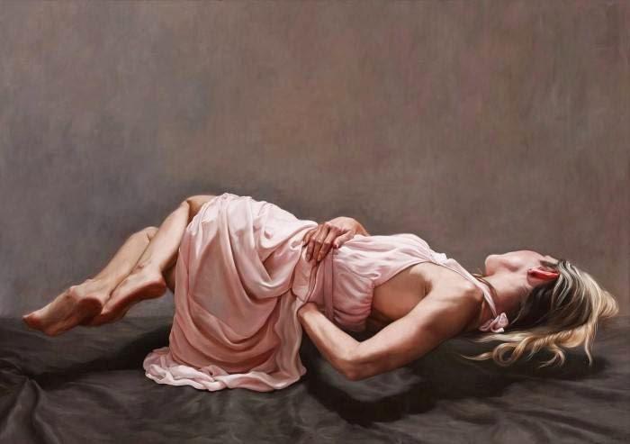 Чувственные и эротические картины. Claire Bridge
