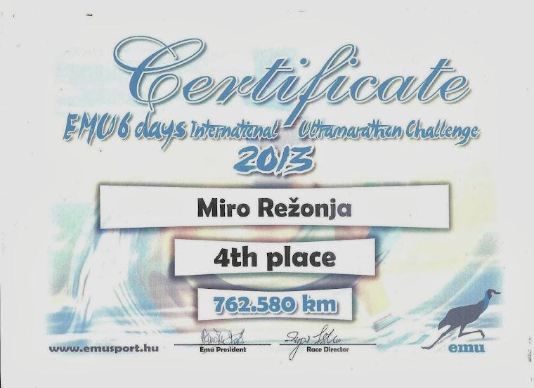 6 days Ultramaraton Balatonfüred