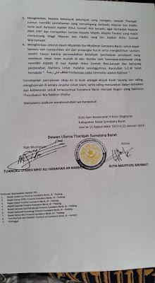 dewan ulama tarekat menolak wahabi dan syiah