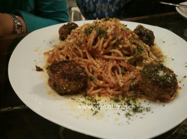 AB Cafe Spagetti Meatball, AB Cafe, Spagetti, gambar spagetti, gambar cantik,