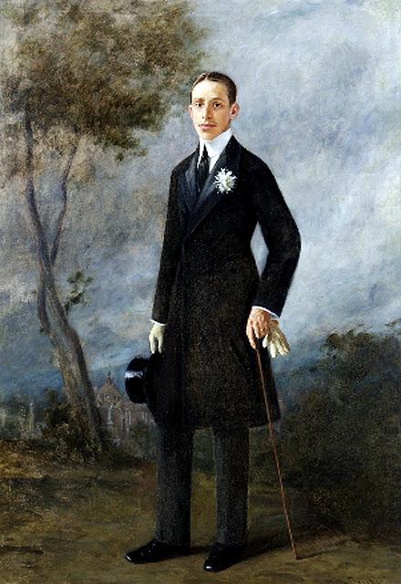 Joan Bru i Vinyoles, Alfonso XIII retratado