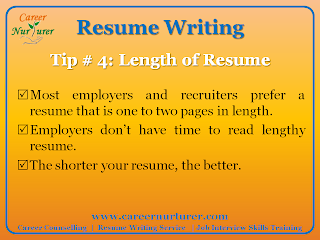 guidelines for writing a professional resume cv career counselling - Tips On A Good Resume