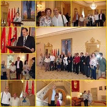 """Presentación de """"El Cielo de Salamanca"""" en el Ayuntamiento."""