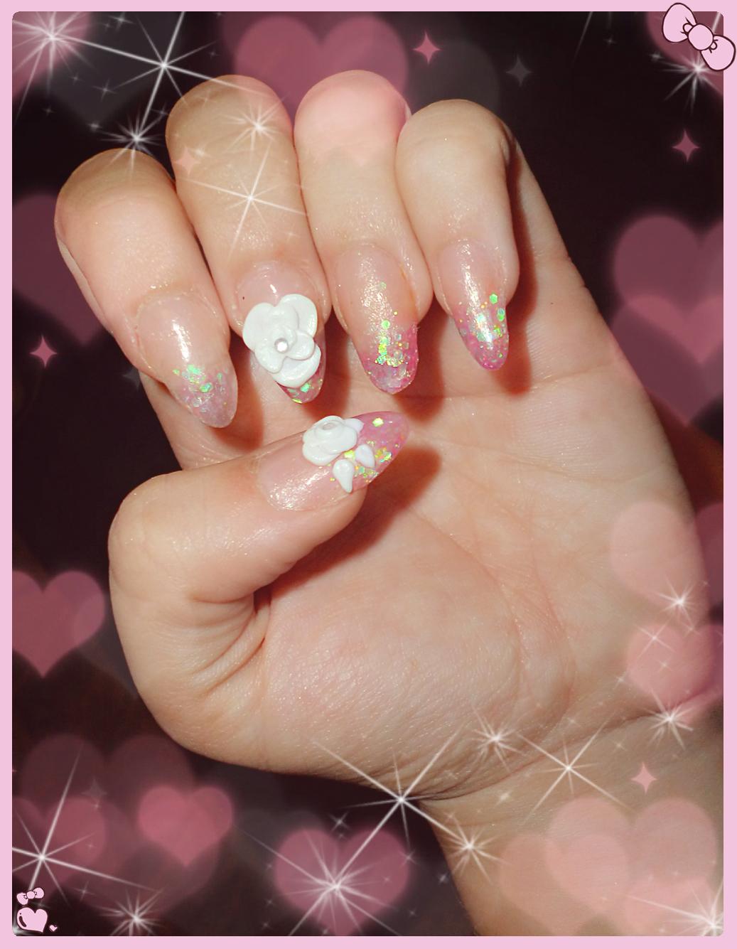 Karen Fighter: Mis primeras uñas acrilicas