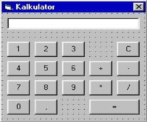 Visual basic 6.0 как сделать калькулятор