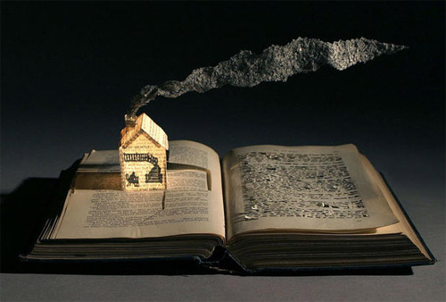 A solitary passion stunning book art for Classic house books