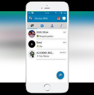 BBM Mod Facephone Jilid 6 Terbaru