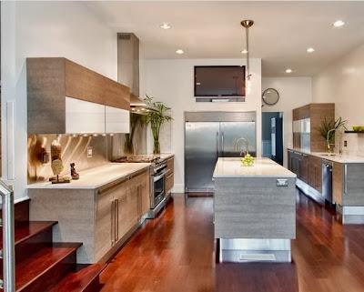 Minimalist Hanging Kitchen Cabinet Design