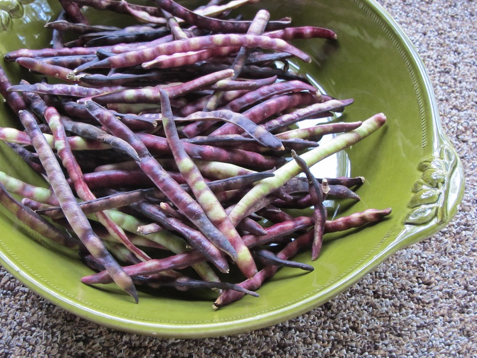 how to prepare purple hull peas
