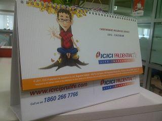 Free Chintamani Desk Calendars