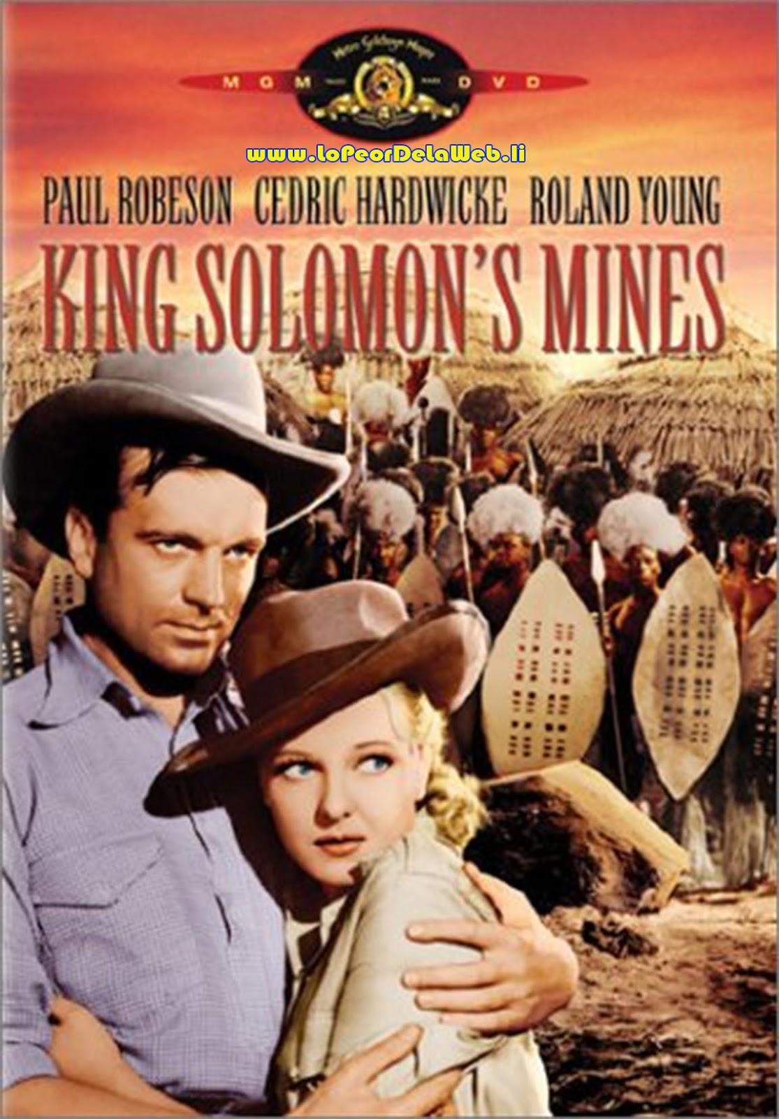 Las Minas del Rey Salomón (Versión Original de 1937)