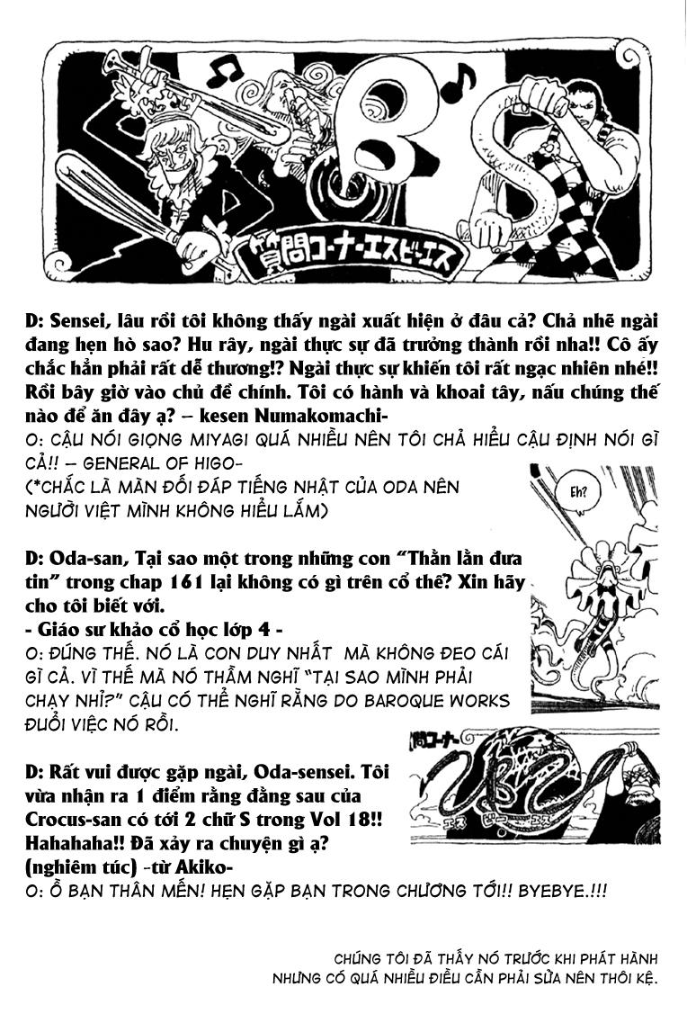 One Piece - Góc Hỏi Đáp SBS Chap 19 - Truyen.Chap.VN