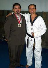 mestre Carlos e Prof Itamar