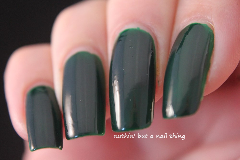 models own hypergel ebony green