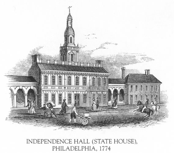 free independence day clip art. Independence Hall 1776