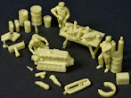 "We review the 1/32nd scale ""Luftwaffe Repair Section."""