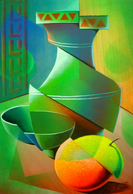 Im genes arte pinturas bodegon vertical moderno for Cuadros verticales modernos