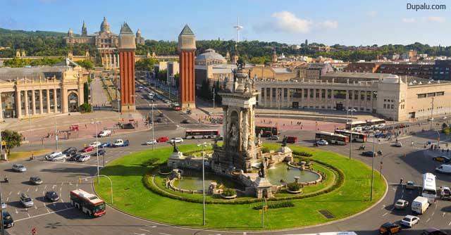 Cambio de nombre de Plaza de España de Barcelona