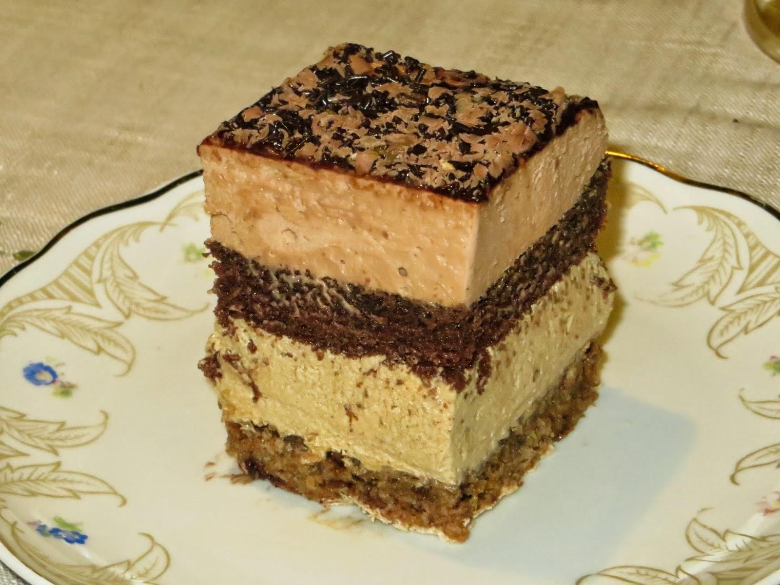 Ciasto Cappuccino Orzechowe