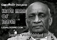 GREATEST INDIANS IRON MAN OF INDIA