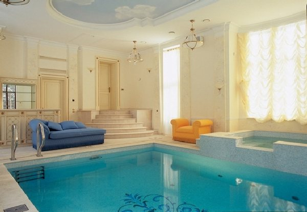 Swimming pool designs indoor swimming pools for Private indoor swimming pools