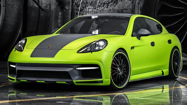 Porsche Panamera Green