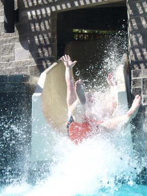 Hyatt Regency Scottsdale pool waterslide