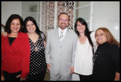 Sandra Fonseca, Juliana Sôlha, Dep Federal Lincoln Portela, Marta Lança e Alzira Montes