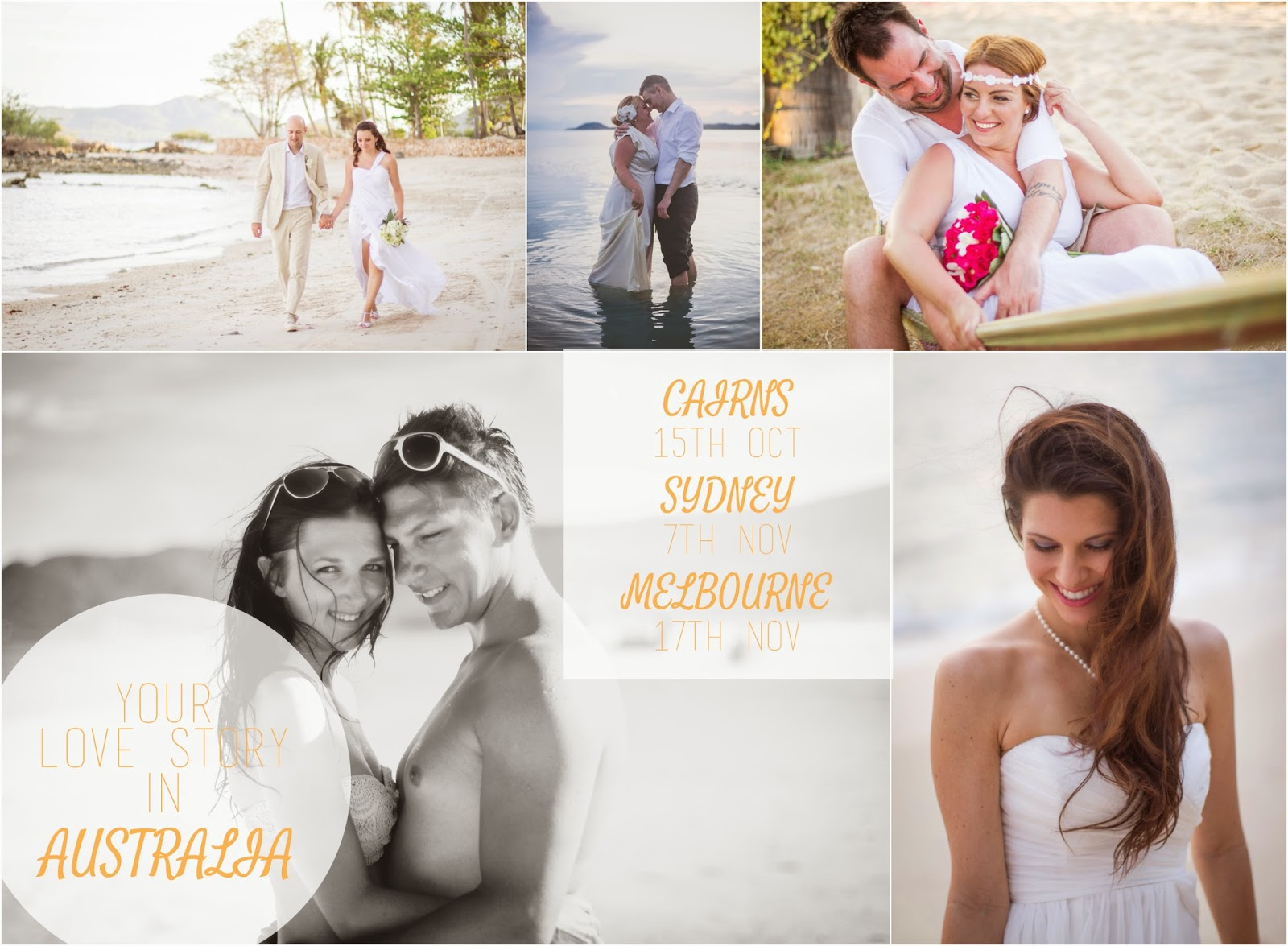 Thailand Wedding Photographer travelling to Australia, travels to Cairns, Melbourne and Sydney