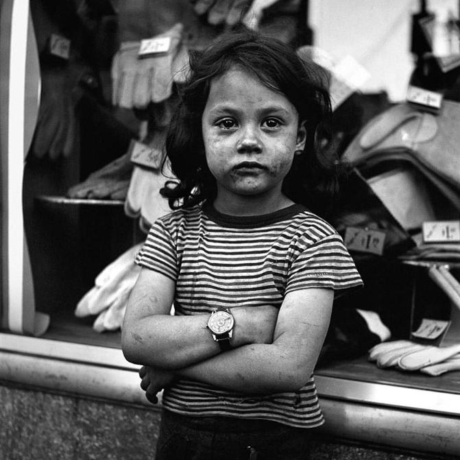vivian maier retrato niña