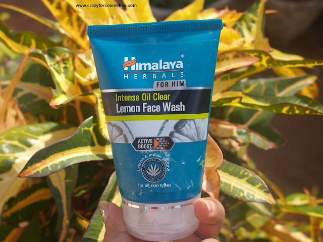 Himalaya's Intense Oil Clear Lemon Face Wash For Men