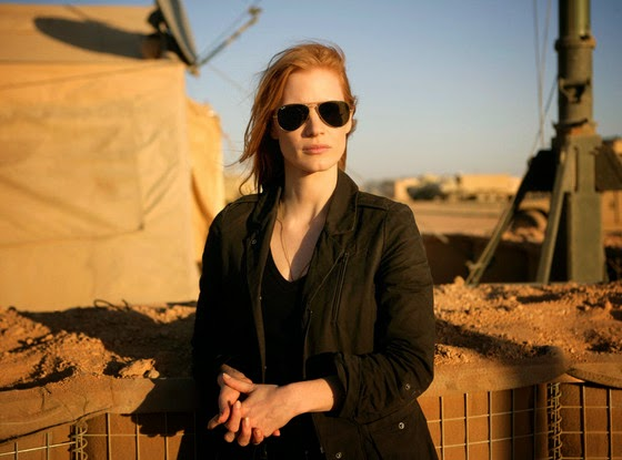 Jessica Chastain in Zero Dark Thirty - Jessica Chastain to Play Marilyn Monroe in Blonde