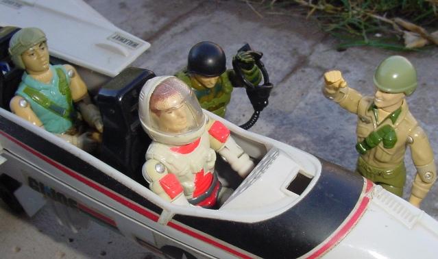 1983 Ace, Skystriker, Airborne, 1984 Duke, Ripcord