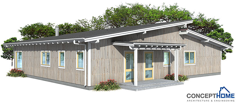 Contemporary house plans contemporary home ch28 for Modern house plan 2012