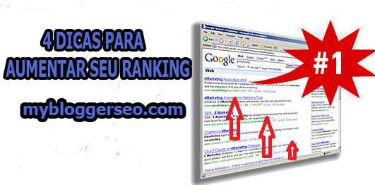 4 Dicas para Melhorar seu Ranking no Google 2015