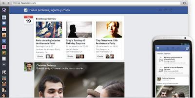 nuevo diseño feed facebook