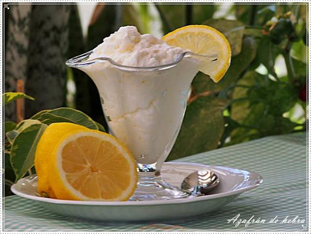 Espuma de limón