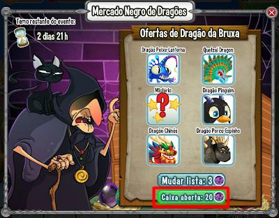 Mercado negro de dragões