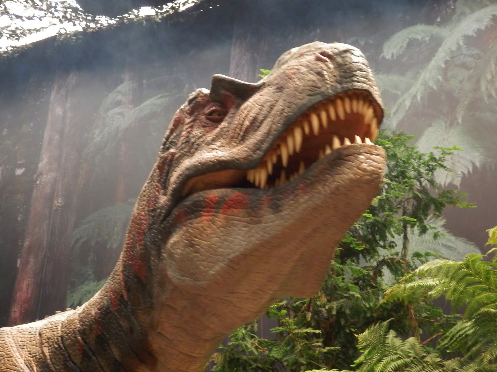 Dinosaur at Eden, St Austell