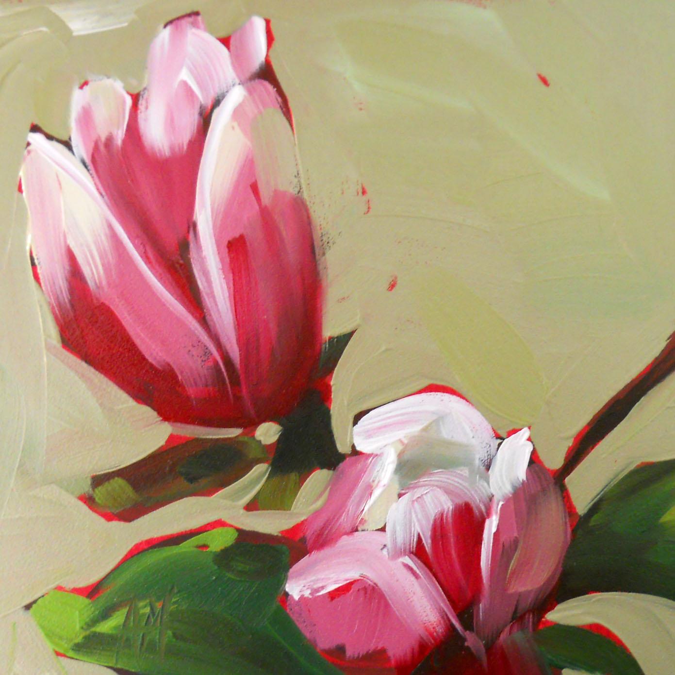 magnolia painting - photo #27