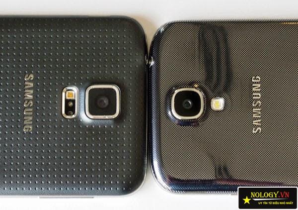 Smartphone đẳng cấp Galaxy S5 và S4.