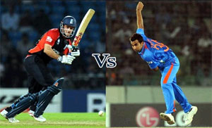 Final match of ICC Champions Trophy 2013 is between India Vs England.